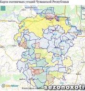 Обновлена интерактивная карта охотничьих угодий Чувашии