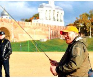 Фестиваль  по нахлысту в Великом Новгороде