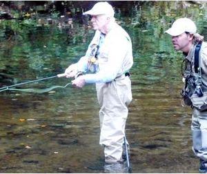 Бывший президент США прибыл в Россию на рыбалку