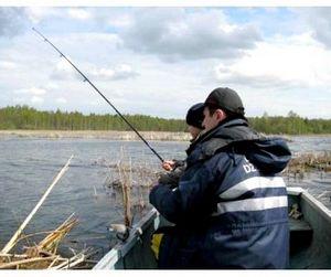 Первый Чемпионат Сибири по спиннингу с лодок
