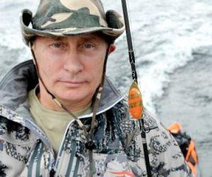 Видео рыбалки Владимира Путина в Тыве