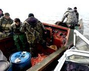 Браконьеры-дагестанцы задержаны в Каспийском море