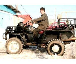 Житель Челябинской области превратил Запорожец в квадроцикл