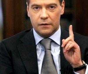 Премьер-министр Медведев выступил против свободной продажи оружия