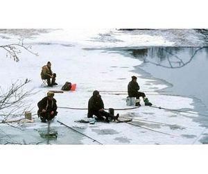 В Волгограде начался сезон зимней рыбалки