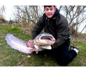 Рыбак из Бирмингема установил рекорд по ловле удилищем с берега