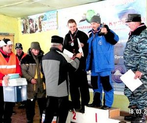Открытый Кубок Кузбасса по ловле на мормышку
