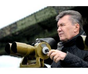 Президент Украины глушил рыбу ракетами