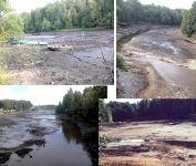Нерадивые строители уничтожили целую реку