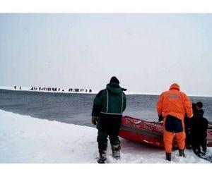 46 сахалинских рыбаков сняли с дрейфующей льдины