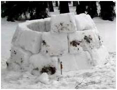 Укрытия из снега и льда