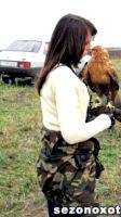 В Саратовской области возрождают соколиную охоту