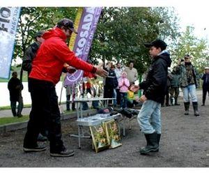 В Москве прошло детско-юношеское первенство по поплавковой рыбалке