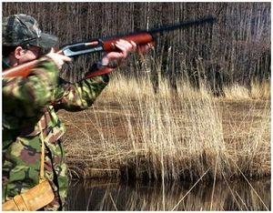 Стрельба из охотничьего ружья Stoeger