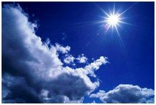 Определение сторон света по солнцу