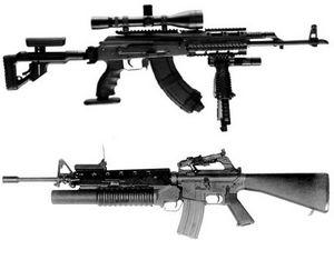 Сравниваем системы АК или M16
