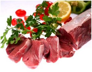 Блюда из мяса копытных