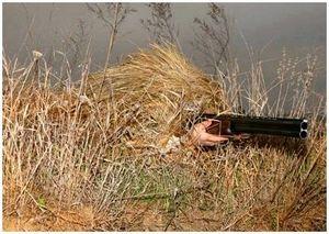 Маскировка стрельбы при охоте скрадыванием