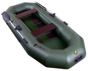 Гребная надувная лодка Таймень N-270 РС ТР
