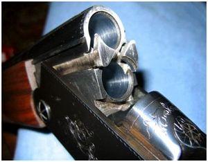 Клейма и надписи на охотничьем оружии