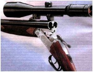 Комбинированное ружье на охоте