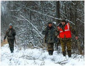 Подготовка зимних зверовых охот