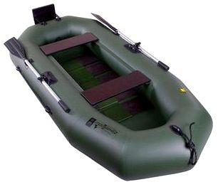 Гребная надувная лодка Таймень А-260 РС ТР