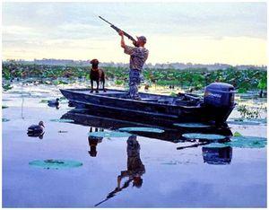 Охота на пернатых птиц и животных подвижными методами
