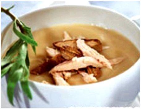 Первые блюда из фазана