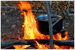 Способы приготовления пищи в походе