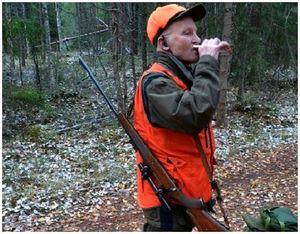 Алкоголь и курение на охоте