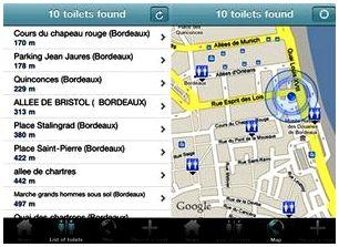 Приложения для iPhone-ToiletFinder