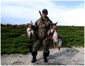 Особенности охоты на гуся