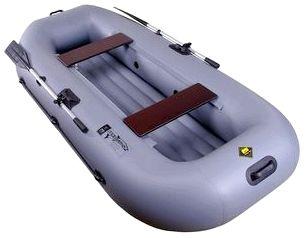 Гребная надувная лодка Таймень V-250 НД