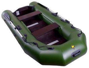 Моторно-гребная надувная лодка Ривьера 2800 СК