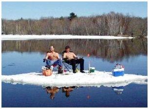 Снасти и экипировка для зимнего лова рыбы
