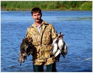 Как нагонять водоплавающих на охоте