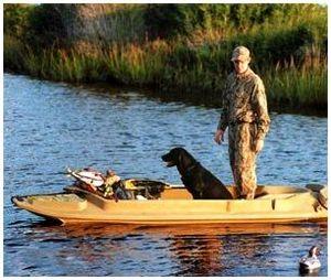 Изготовление лодки для охоты
