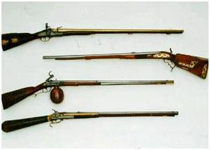 Охотничьи ружья XVII-XIX века