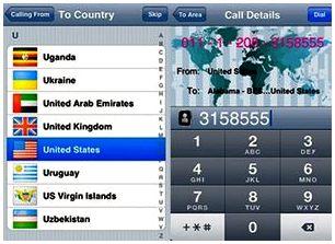 Приложения для iPhone-International Dialing Codes