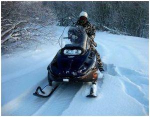 Тактика охоты со снегоходов