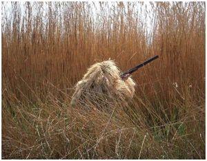 Маскировка на охоте по перу