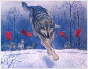 Охота на волков в Тамбовской обл