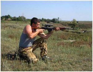 Как пристрелять карабин Тигр