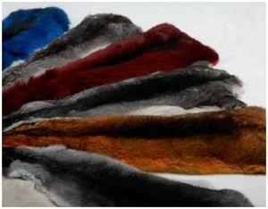 Покраска меха животных