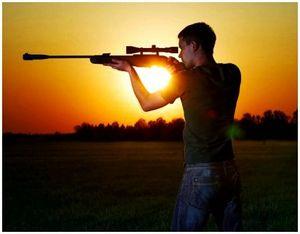 Охота на уток с пневматической винтовкой