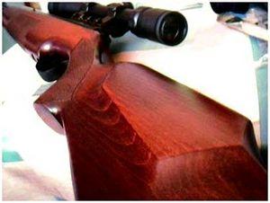Уход за ложей охотничьего ружья