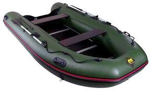 Моторно-гребная надувная лодка Ривьера 3800 СК
