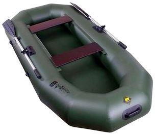 Гребная надувная лодка «Таймень» N-270