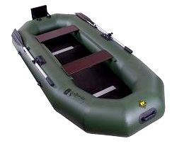 Гребная надувная лодка Таймень N-270 С ТР